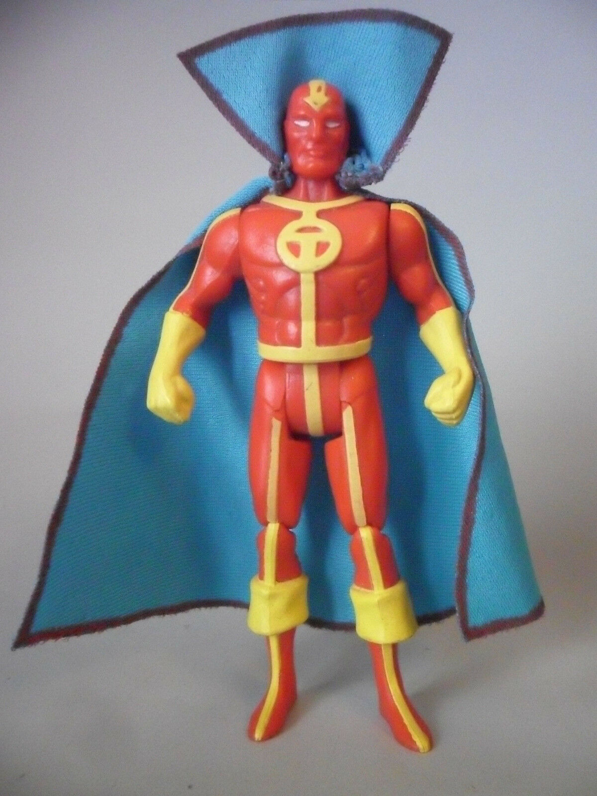 DC SUPER POWERS rouge TORNADO (CAPA REPRO) FIGURA ARTICULADA KENNER 1985