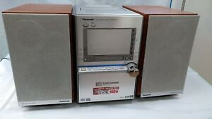 Panasonic-SA-PM91D-5-DVD-CD-changeur-Mini-Systeme-Hi-Fi-Bluetooth-MP3-super-sound