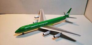 AVIATION 200 BRANIFF INTERNATIONAL DC8-62 (GREEN) 1:200 SCALE DIECAST MODEL