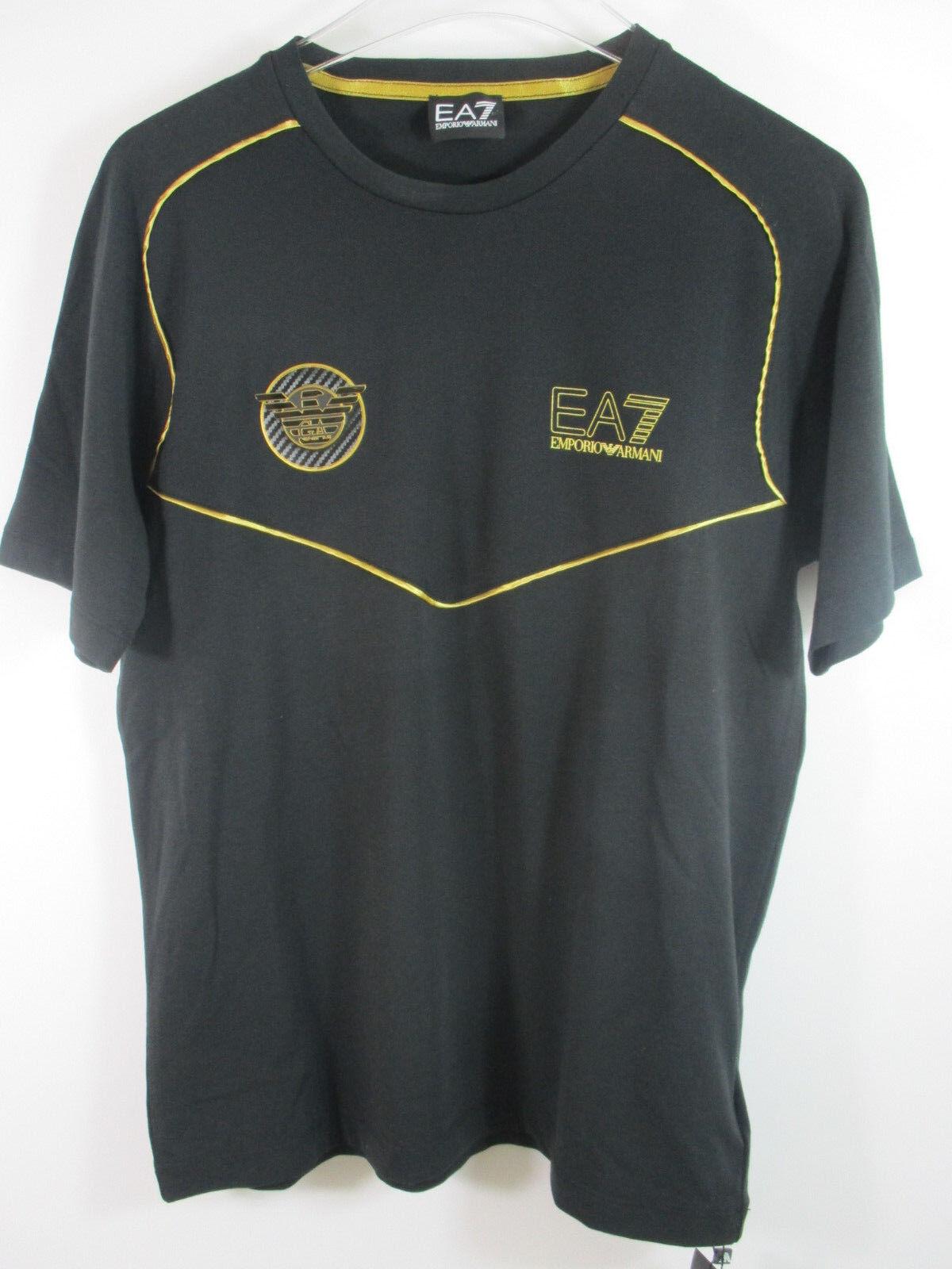 EA7 EMPORIO ARMANI  T - SHIRT SCHWARZ  Grösse : M