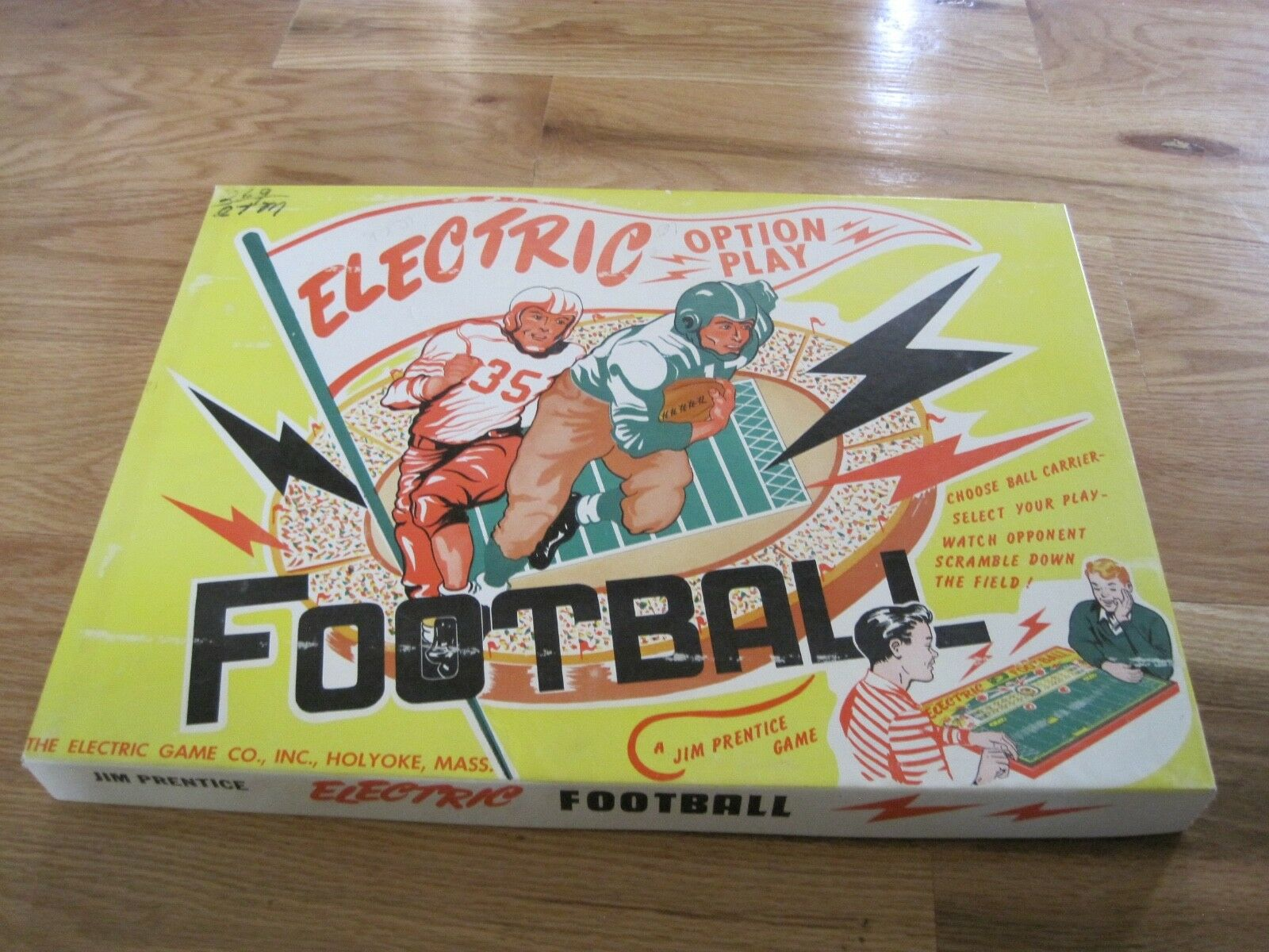Electronic Football Game 1950's Jim Prentice
