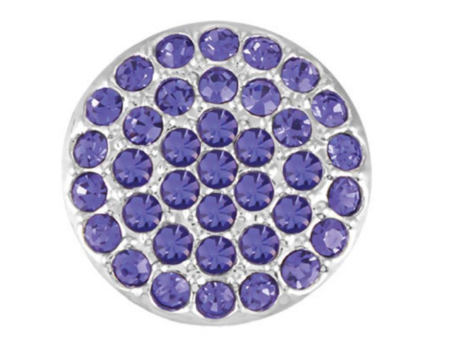 GINGER SNAPS™ RITZY-TANZANITE Jewelry GET 5TH $6.95 SNAP FREE BUY 4