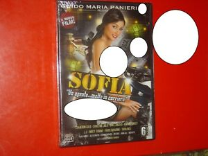 """DVD SEALED""""SOFIA UN AGENTE MOLTO IN CARRIERA""""SOFIA GUCCI-CAMERON GOLD-100MIN.ITA - Italia - DVD SEALED""""SOFIA UN AGENTE MOLTO IN CARRIERA""""SOFIA GUCCI-CAMERON GOLD-100MIN.ITA - Italia"""