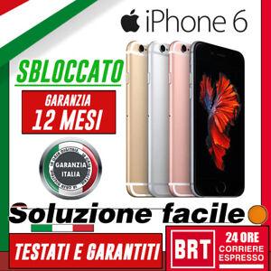 GRADO-A-SMARTPHONE-APPLE-IPHONE-6-16GB-64GB-128GB-RIGENERATO-SBLOCCATO-24H