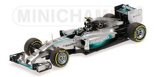 MINICHAMPS - MERCEDES AMG PETRONAS F1 TEAM W05 ROSBERG ABU DHABI GP 2014 1 43