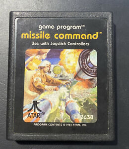Missile Command (Atari 2600, 1981) Video Game Cartridge Only