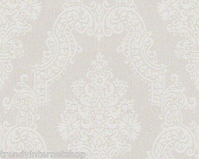 AS Creation Elegance 2 Vlies Tapete 936771 beige Floral Barock Struktur Textil