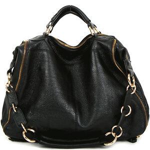 women bag leather handbag shoulder tote hobo designer. Black Bedroom Furniture Sets. Home Design Ideas