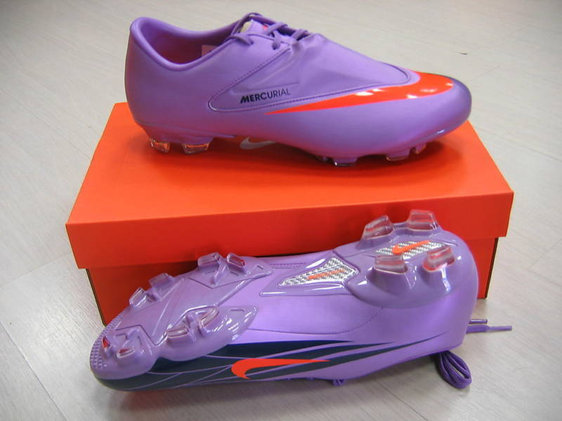 NIKE SHOES BOOTS 40 FOOTBALL MERCURIAL GLIDE FG cod. 396134 584