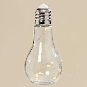 Glühbirne Deko led hänger deko glühbirne glas le m batterie licht h 19 cm ø 9