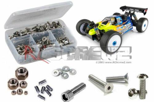 Stainless Steel Screw Kit RCScrewZ Associated RC8B3.1 Nitro ASC80935 ass081
