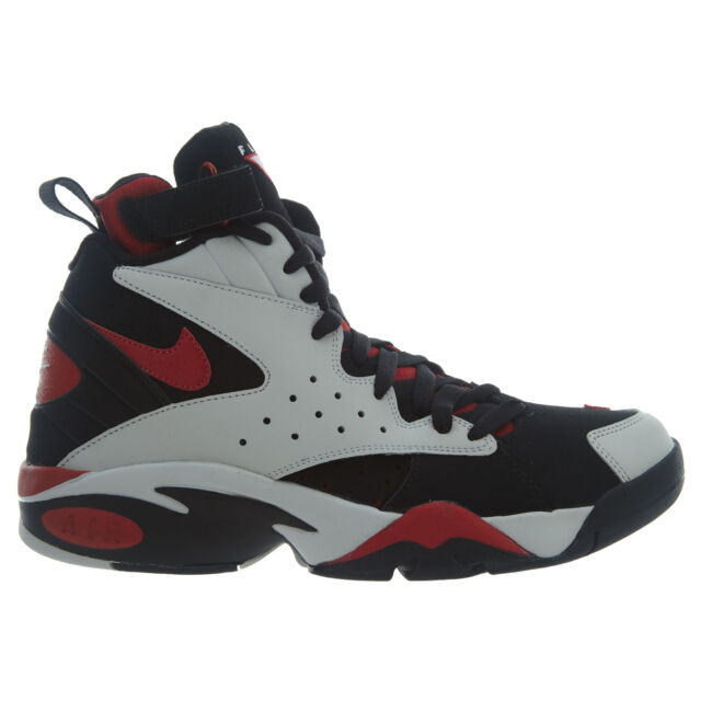 2d17a8587a9e1d Nike Air Maestro II LTD Mens AH8511-002 Black Grey Red Basketball Shoes  Size 9
