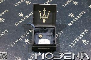 Pin-Ansteckpin-Anstecknadel-Logo-Emblem-Badge-Maserati-Tridente-Trident-mit-OVP
