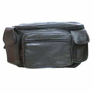 Image Is Loading Genuine Leather Large Pack Waist Bag With