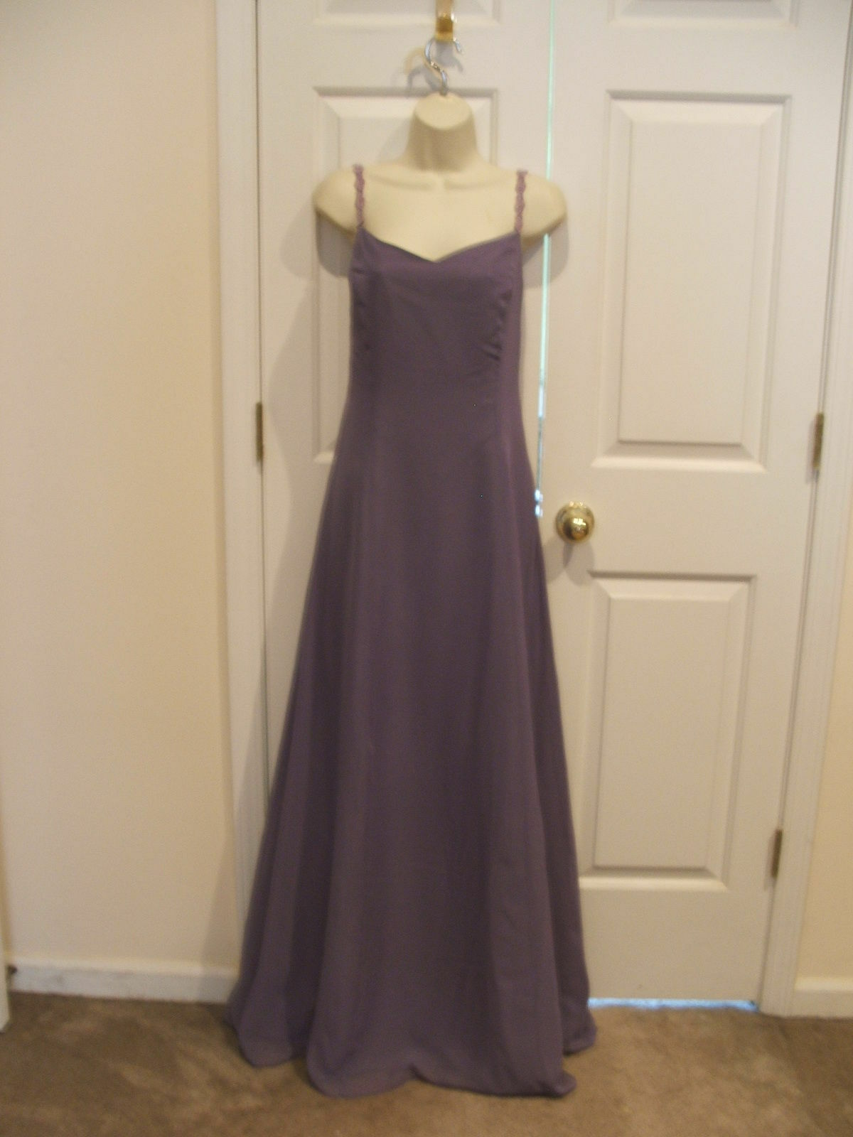 NWT alfred angelo DEEP ORCHID bridesmaid /Formal Occasion long Gown size 14