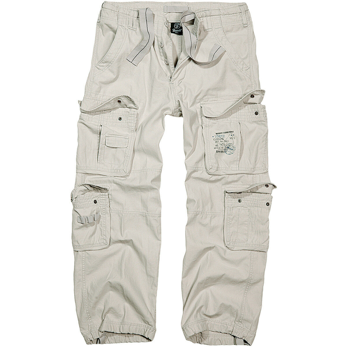 Brandit Brandit Brandit Uomo Classici Puro Vintage Combattimento Pantaloni Off Trasferte Pant Bi cd9a83