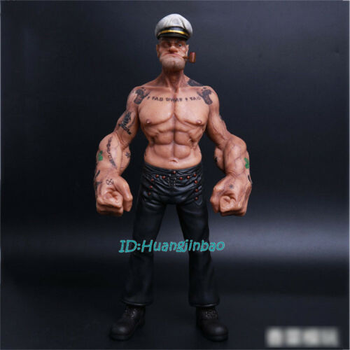 Popeye 1//6 Scale Painted Resin Figurine Headplay 12/'/' Model Sculpture Collection