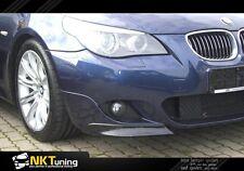 BMW E60 - Front lip splitter Mpakiet M Sport
