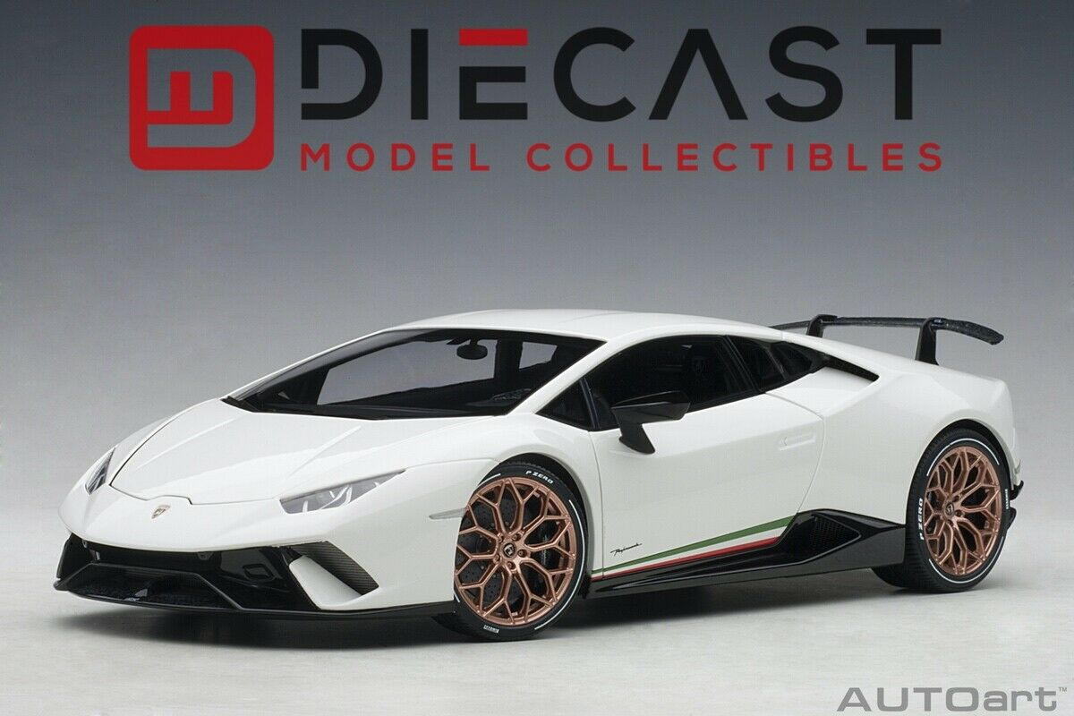 tienda hace compras y ventas Autoart 79151 Lamborghini Huracan Huracan Huracan Temps (sólido blancoo) 1 18TH Escala  barato en línea