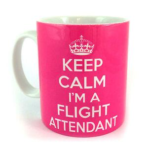 NEW-KEEP-CALM-I-039-M-A-FLIGHT-ATTENDANT-GIFT-MUG-CUP-AND-CARRY-ON-RETRO-BRITANNIA