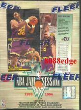 1993 93-94 FLEER JAM SESSION NBA SEALED BOX: CHRIS WEBBER/PENNY HARDAWAY RC