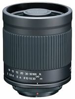 Kenko 400mm F/8 Mirror Lens (t-mount) For Sony Mount Dslr Cameras