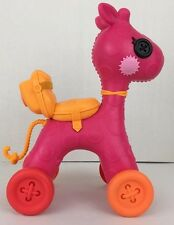 Lalaloopsy Doll Pink Horse for Full Size 12Inch Dolls Rolling Ride On Horse Pony