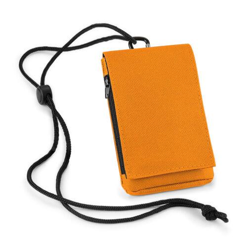 CUSTODIA per Cellulare BAGBASE Telefono SMARTPHONE Tasca ZIP Telefonino POUCH