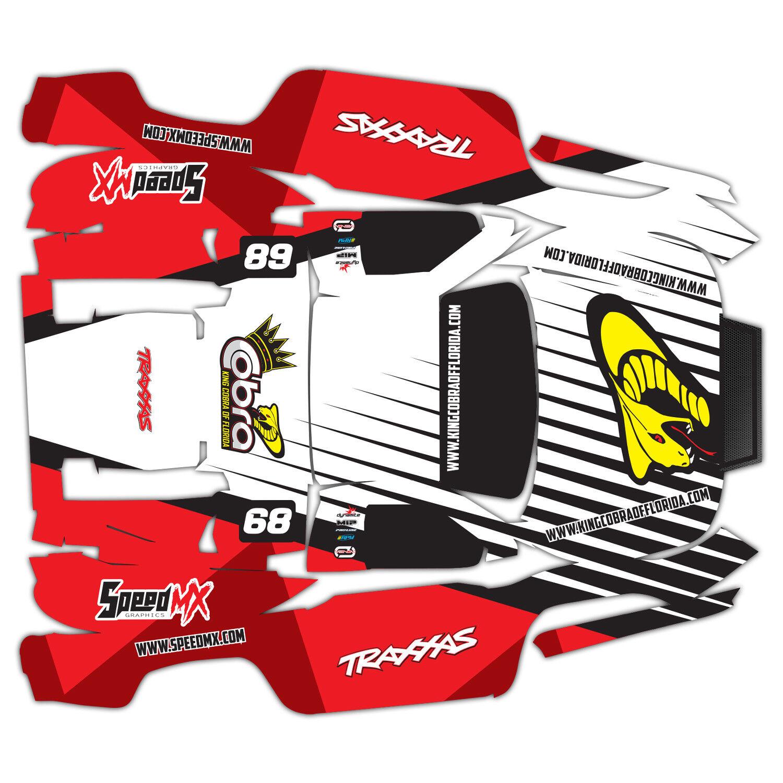 Traxxas Slash Slash Slash Body Wrap Sleek Design 51d69c