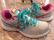 NIKE Relentless 2 Women's Gray/Pink/Turquoise Athletic Shoes Sz 8.5 - 512083-014