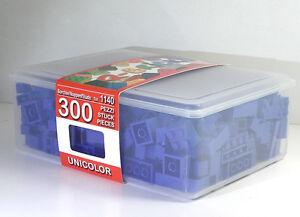 Q-BRICKS 1140 KIT Confezione Unicolor BLU 300Pz - Italia - Q-BRICKS 1140 KIT Confezione Unicolor BLU 300Pz - Italia