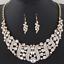 Fashion-Elegant-Women-Rhinestone-Crystal-Choker-Bib-Statement-Pendant-Necklace thumbnail 16