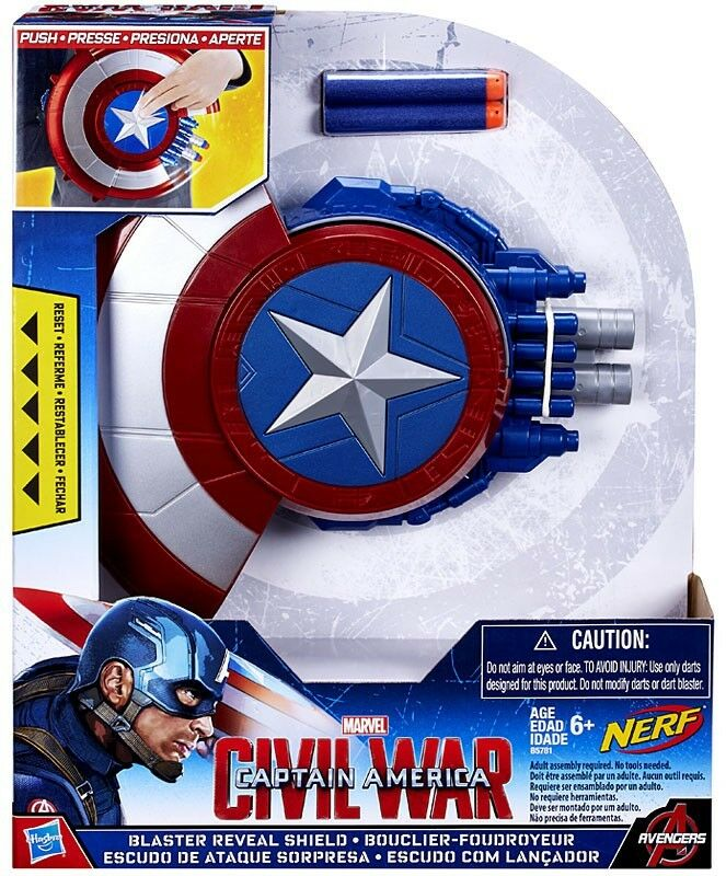 Captain America Civil War Blaster Reveal Shield Roleplay Toy