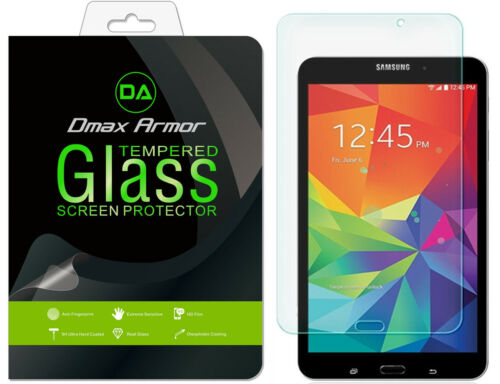 2x Dmax Armor for Samsung Galaxy Tab 4 8.0 inch Tempered Glass Screen Protector
