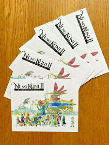 Ni No Kuni II 2 Revenant Kingdom 5 postcards set