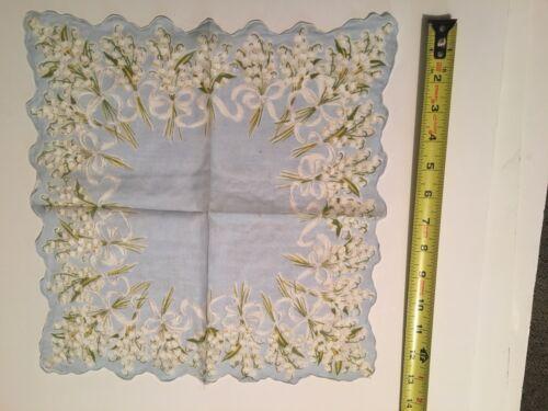 vintage Wedding handkerchief SOMETHING OLD somethi
