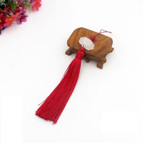 Handmade Vintage ChineseTassesl Bookmark Keyring Trimming Christmas Decoration