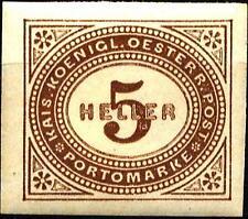 AUSTRIA - Segnatasse - 1899/1900 - Tipi prec. valori in heller - 5 h.