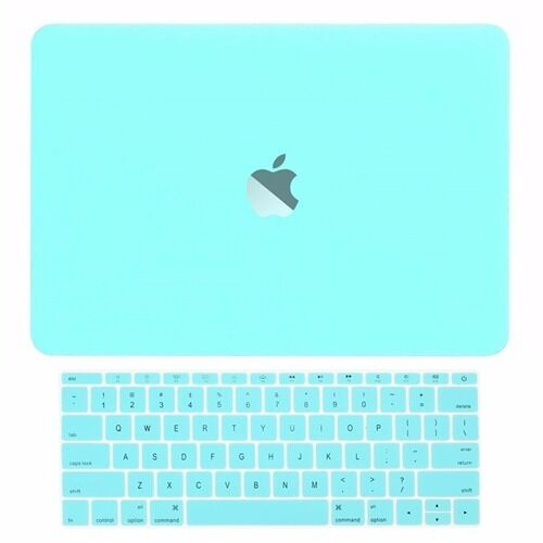 2in1 Hot Blue Matte Hard Case+Keyboard Skin for Macbook Pro 13 WITHOUT Touch Bar