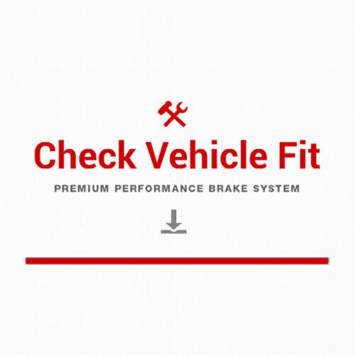 For 2011-2015 2016 2017 2018 Hyundai Elantra Rear Brake Rotors /& Ceramic Pads