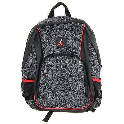 JORDAN Jumpman Elephant Print Black Red Backpack 617846010157   eBay