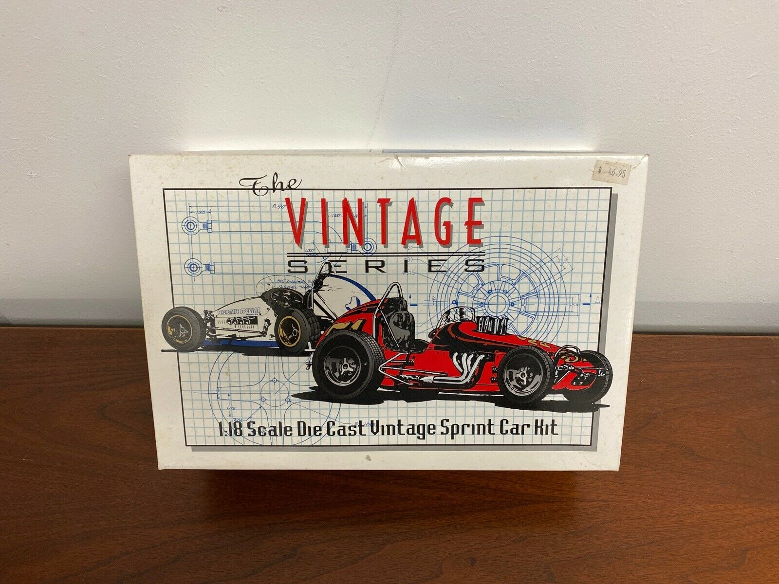NIB GMP DIECAST 1 18 Scale Vintage SPRINT CAR Kit The Vintage Series