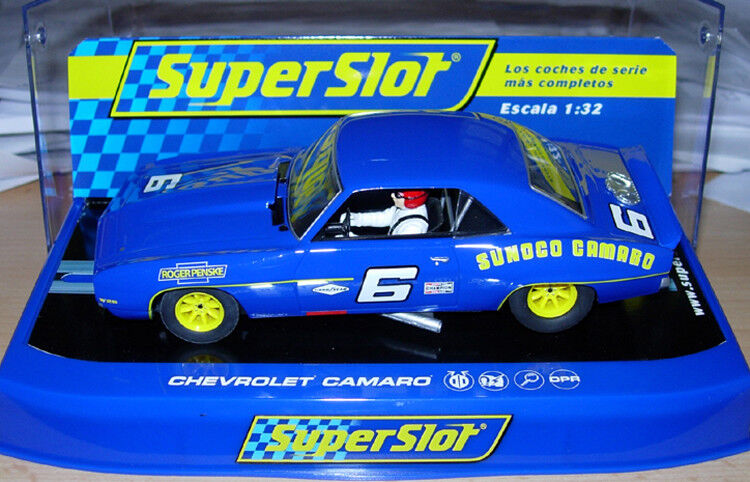 Scalextric Superslot C3650 H3650 Chevrolet Camaro 1 32 Slot Car  New & Boxed