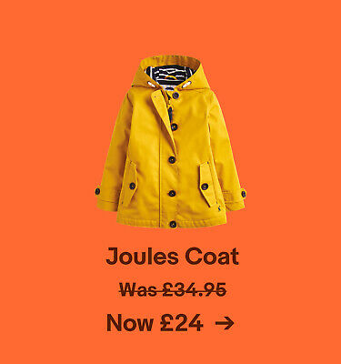 Joules Coat Was £34.95. Now £24.