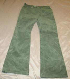 Ralph Lauren Jeans Co Para Mujer Talla 10 Verde Pantalones De Pana Excelente Estado Usado En Excelente Condicion Ebay