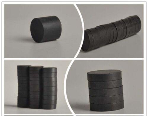 17 x Runde Magnete im Set Magnet rund 16mm starker runder Keramik-Magnet