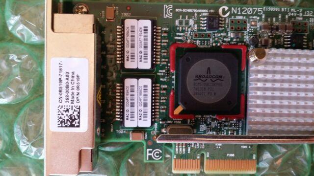 Dell R519P | Broadcom Quad Port 5709 Gigabit PCIe Network Card BCM95709A0906G