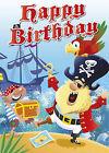 Happy Birthday - Pirates by Catharine Pitt, Mark Davis, Mackerel Design (Novelty book, 2011)