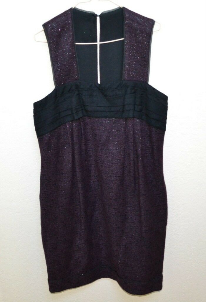 New Peter Som Designer Wool Dress Size 12 Retail Women's
