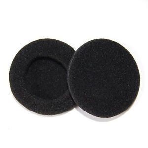 2 x 80mm Replacement HeadPhone Headset EarPhone Soft Foam Sponge Ear Pads Cover